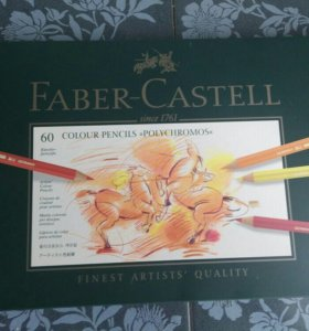 Faber Castell polychromos 60цв