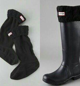 Носки для резиновых сапог.Чёрного цвета