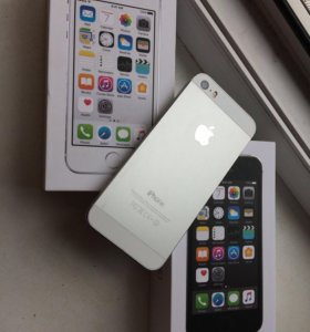 iPhone 5s (Space Gray и Silver)