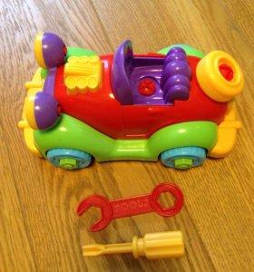 Машинка конструктор