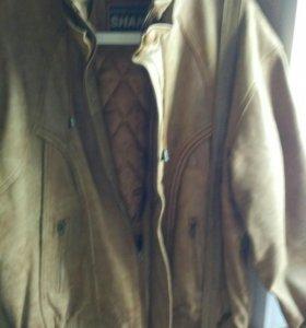 Новая куртка из Турции натуральная кожа
