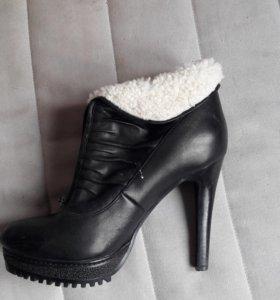 Ботинки зима 40р