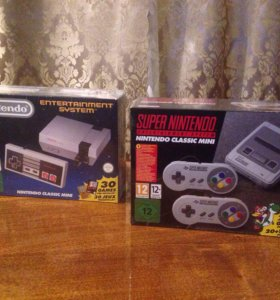 NES mini, SNES mini