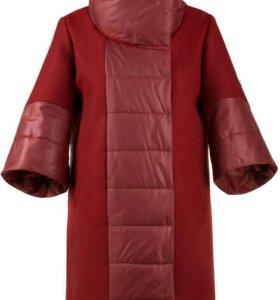 Пальто новое женское демисезонное 52