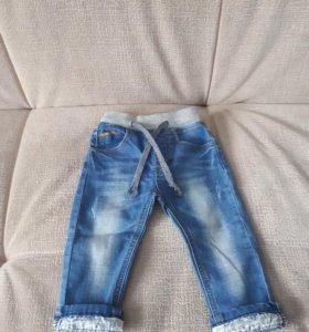 Детские джинсы 86р.