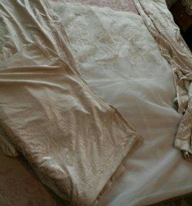Шторы текстиль тюль ночники покрывало в подарок