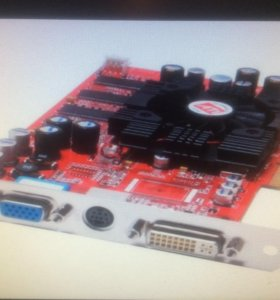 Видеокарта Radeon 96000XT 128 Mb DDR V/D/VO AMD