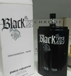 Тестер Paco rabanne black xs