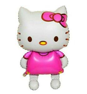 Шар фольгированый hello kitty