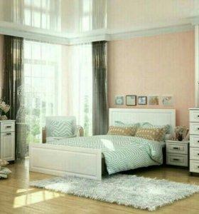 Спальня Прага белое дерево