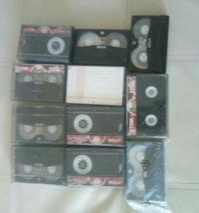 Кассеты на видеокамеру