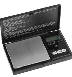 Электронные карманные весы 200гр 0.01г