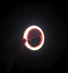 Селфи кольцо с подсветкой