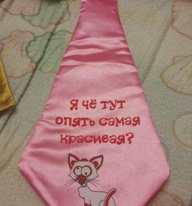 Декоративные галстуки 7шт