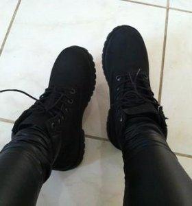 Ботинки тимберленды зима 40 41