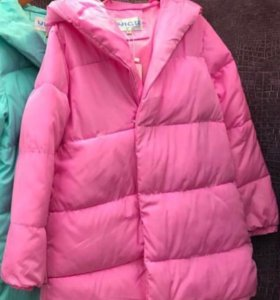 Куртка пуховик тёплая 46-48