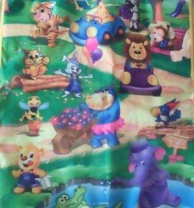 Музыкальный детский коврик