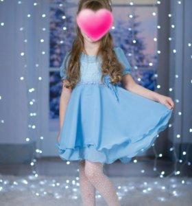 Платье нарядное, 4-6 лет