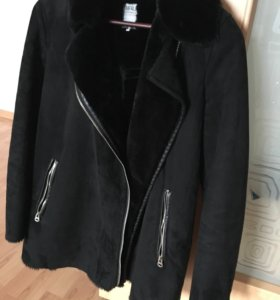 куртка дубленка Zara