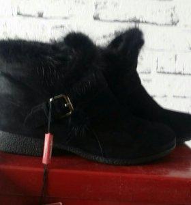 Ботинки зимние натуральные Mascotte.