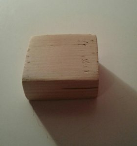 Деревянуй кубик