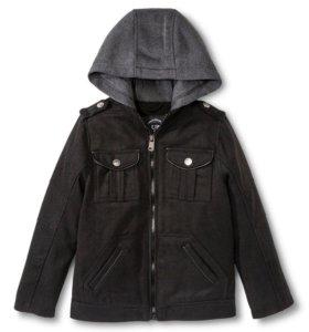 Модное пальто для мальчика 10-12 лет