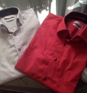 Рубашки с длинным рукавом размер М