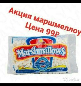 Маршмеллоу (зефир для кофе)