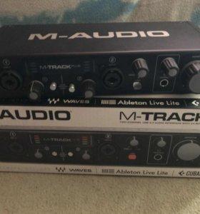 Аудиокарта M-Audio M-Track 2 Plus