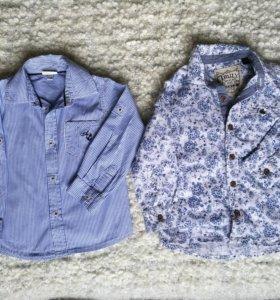 Рубашка для мальчика 92, 98