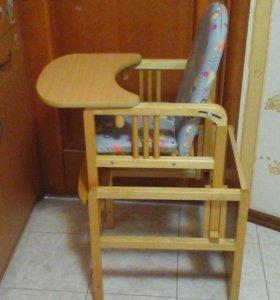 Стол и стул трансформер для кормления