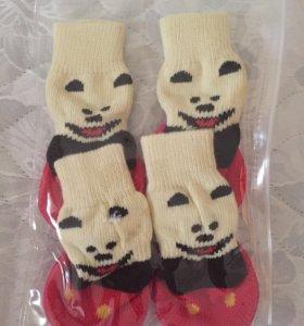 Носки для собак нескользящие