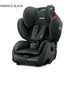 recaro young sport hero perfomance black