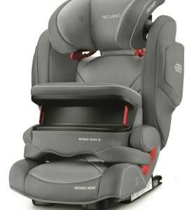 recaro monza nova is seatfix aluminium grey