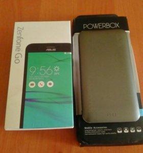 Смартфон+power bank 10000a
