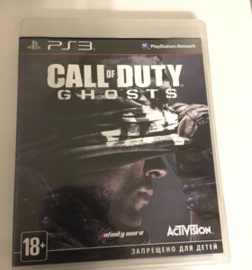 Call of duty Ghost для ps3