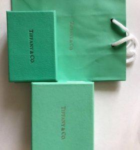 Подарочные коробки Tiffany (мешочек внутри)