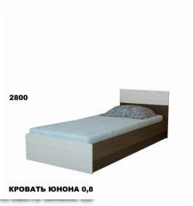 Кровать юнона 0.8 от тхм-кавказ