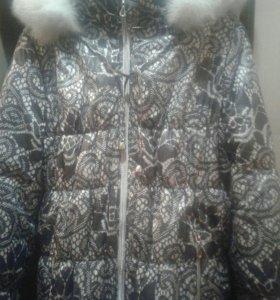 Куртка для беременных, зимняя, в отличном состояни