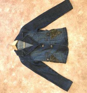 Пиджак джинсовый новый