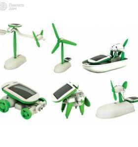 Конструктор на солнечной батарее «Robot kits 6 в 1