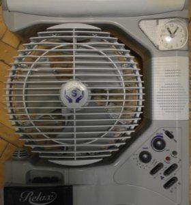 Продам вентилятор-радио-плеер-светильник