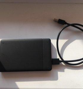 Жесткий диск 250 gb и внешний кейс