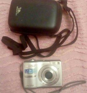 Фотоаппарат цифровой с чехлом