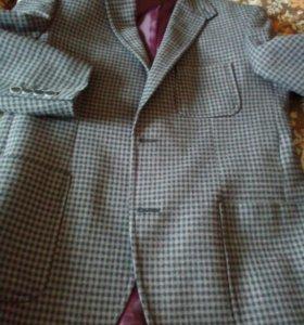 Пиджак для мальчика (тонкая шерсть)made in Turkey