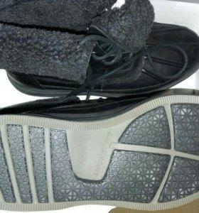 Кожанные новые мужские ботинки