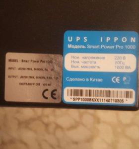 Источник бесперебойного питания ippon smart power