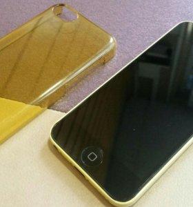 Iphone 5C хорошее состояние.