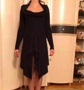 Платье вязаное из акрила