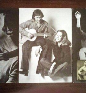 Фотографии В.Высоцкого на открытках. 1988г.